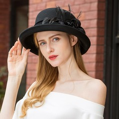 Ladies' Unique/Simple/High Quality Wool Floppy Hats/Tea Party Hats