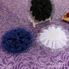 Lovely Net Yarn/Satin Hairpins (Set of 2)