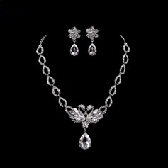 Gorgeous Alloy Ladies' Jewelry Sets