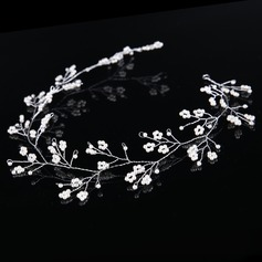 Glamourous Crystal/Alloy/Imitation Pearls Headbands (Sold in single piece)