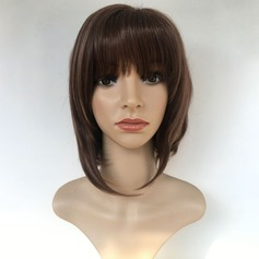 Straight Synthetic Hair Capless Wigs 180g