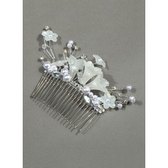Rhinestones With Beading Combs & Barrettes