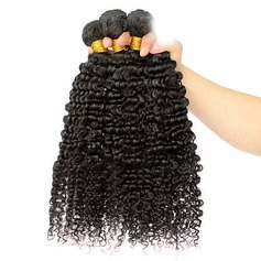 4A Non remy Curly Human Hair Human Hair Weave (Sold in a single piece) 100g