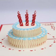 Three-dimensional Happy Birthday Greeting Cards