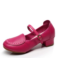 Women's Real Leather Sandals Latin Dance Shoes
