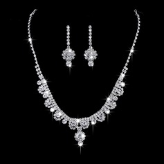 Pretty Alloy/Copper With Rhinestone Ladies' Jewelry Sets