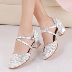 Kids' Fabric Sparkling Glitter Ballroom Dance Shoes