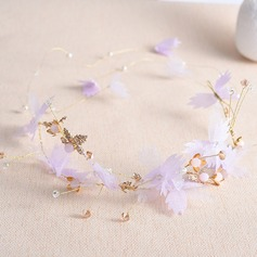 Ladies Fashion Crystal/Alloy Headbands With Crystal (Sold in single piece)