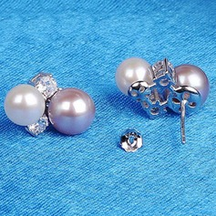Exquisite Alloy/Imitation Pearls Ladies' Earrings