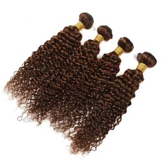 6A Virgin/remy Curly Human Hair Human Hair Weave (Sold in a single piece) 100g