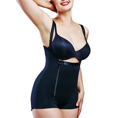 Women Sexy/Classic Polyester/Cotton/Chinlon High Waist Bodysuit/Tanks And Camis Shapewear