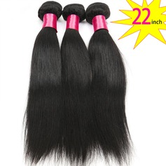 22 inch 8A Grade Brazilian Straight Virgin human Hair weft(1 Bundle 100g)