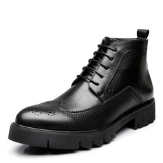 Men's Microfiber Leather Chukka Casual Men's Boots
