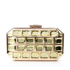 Charming Crystal/ Rhinestone/Metal/Rhinestone Clutches