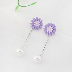 Unique Alloy Imitation Pearls Women's Fashion Earrings
