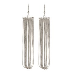 Fashional Iron With Tassels Ladies' Earrings