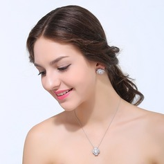 Charming Zircon With Cubic Zirconia Ladies' Jewelry Sets