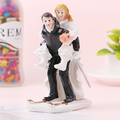 Classic Couple/Love Is Sweet Resin Cake Topper (Sold in a single piece)