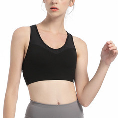 Simple Classic Nylon Sport Bras