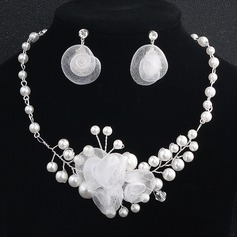 Elegant Imitation Pearls With Imitation Pearls Ladies' Jewelry Sets