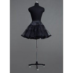 Women Tulle Netting Short-length 2 Tiers Petticoats