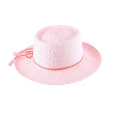 Ladies' Lovely/Simple Raffia Straw With Bowknot Straw Hat