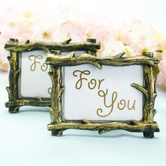 Rustic Tree Branch Place Card Picture Frame Favors
