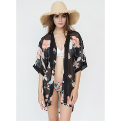 Floral Light Weight/attractive Beach Poncho