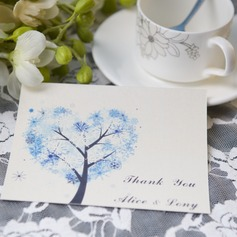 Personalized Modern Style Thank You Cards