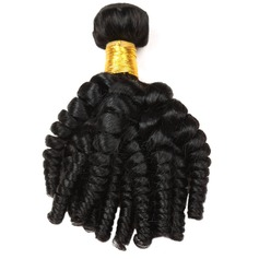 5A Non remy Loose Human Hair Human Hair Weave (Sold in a single piece) 100g