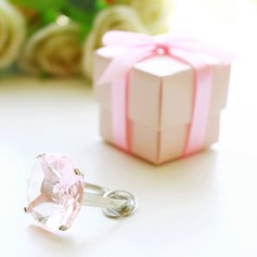 Ring Keychain Bridal Shower Favors