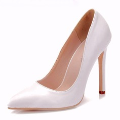 Women's Leatherette Spool Heel Pumps