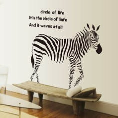 Zebra PVC Wall Stickers