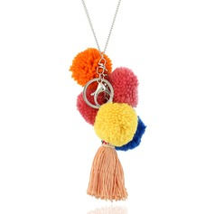 Fashional Alloy With Tassels Ladies' Fashion Necklace (Sold in a single piece)