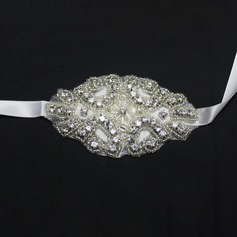 Simple And Elegant Hand-tied Crystal Wrist Corsage (Sold in a single piece) - Wrist Corsage