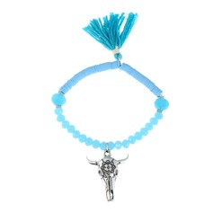 Shining Alloy Crystal With Tassels Ladies' Fashion Bracelets (Sold in a single piece)