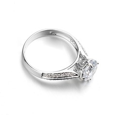 Unique Alloy With Cubic Zirconia Ladies' Rings