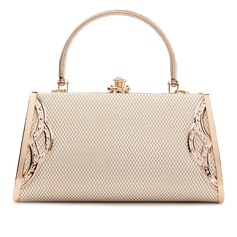 Fashionable PU Clutches/Satchel/Top Handle Bags