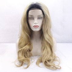 Wavy Synthetic Hair Lace Front Wigs 400g