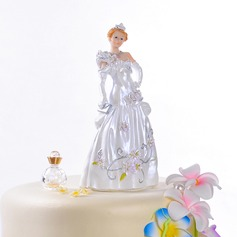 Gorgeous Fairytale Bride Resin Wedding Cake Topper