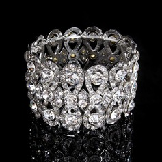 Shining Rhinestones With Crystal Ladies' Bracelets