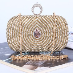 Unique Crystal/ Rhinestone Clutches/Satchel