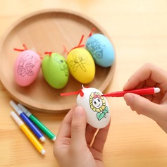 DIY painting eggs educational toys with color pen