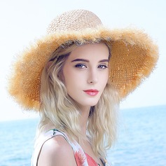 Ladies' Lovely/Special Raffia Straw Straw Hat/Beach/Sun Hats