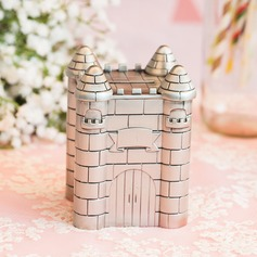 Amazing Castle Design Tin Alloy Piggy Bank