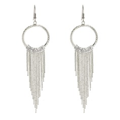 Fashional Alloy/Iron With Rhinestone Ladies' Earrings