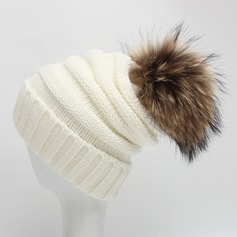 Ladies' Unique/Pretty Polyester Beanie/Slouchy