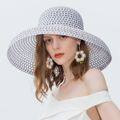 Ladies' Glamourous/Simple Polyester Beach/Sun Hats