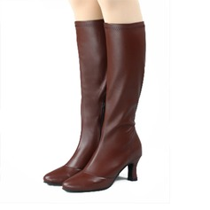 Women's Leatherette Dance Boots Dance Shoes