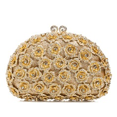 Dreamlike Crystal/ Rhinestone/Rhinestone/Alloy Clutches/Luxury Clutches